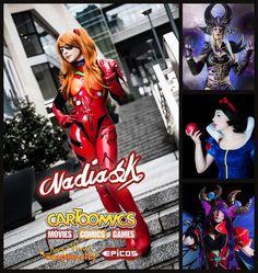 Chi di voi sarà a Cartoomics? Vi aspetto :) #nadiasktravel #travel #cartoomics #cosplay