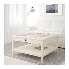 IKEA - LIATORP, Mesa de centro, , Prático espaço de arrumação sob o tampo da mesa.A prateleira para guardar revistas e outros artigos ajuda-o a manter tudo organizado, libertando espaço sobre o tampo.