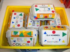 Joc dels nombres i els colors. Molt xulo!