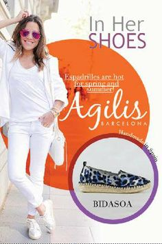 #Espadrilles are #Hot this #Spring and #Summer!! Find your #Perfect Style @ In Her Shoes! For more new releases, promotions and special events, visit usatwww.inhershoestore.com to sign up for emails. #inhershoestore #shoe #LOVE#perfectforspring #agilisbarcelona #spain #Bidasoa#SpringintoStep #perfectmatch #staple #footwear#shoes #spring2014 #sass #walkfashionably #musthave #style #fashion2014 #trend #shop #need#shopnow #shoesforspring2014