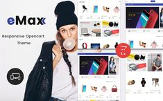 eMax - The Shopping Mall OpenCart Template #69702