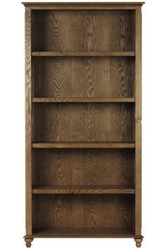 Shutter Open 5-Shelf Bookcase - Open Bookcases - Bookcases - Furniture   HomeDecorators.com