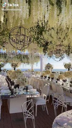 Outdoor Wedding Decorations, Wedding Themes, Chandelier Wedding Decor, Wedding Ideas, Wedding Stage, Wedding Set Up, Italy Wedding, Wedding Vows, Floral Wedding