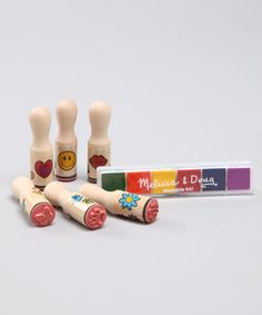 Take a look at this Happy Handle Stamp Set on zulily today!