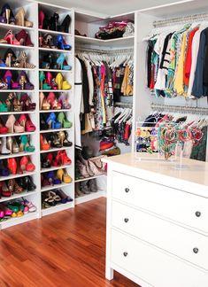Inspirational Einblicke in meinen Kleiderschrank