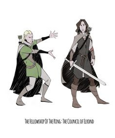 "Legolas: ""He is Aragorn, son of Arathorn. You owe him your alligiance."" Legolas: *presents Aragorn* ""And heir to the throne of Gondor"" Aragorn: ""Sit down, Legolas. Fellowship Of The Ring, Lord Of The Rings, Lotr, Concerning Hobbits, Sherlock, O Hobbit, J. R. R. Tolkien, Gandalf, Legolas And Aragorn"