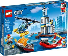 Lego City Sets, Belgium, Seaside, Fire, Toys, People, Products, Firefighter, Sailor