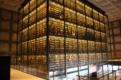 TDP: The Daily Prep: Yale's Beinecke Rare Book and Manuscript Library