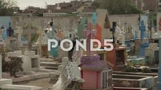 Colorful Cemetery Grave Yard Pan - Stock Footage | by OsiriStar Video Footage, Video Clip, Stock Video, Cemetery, Stock Footage, Yard, Colorful, Patio, Yards
