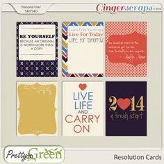 Resolution 3x4 Cards