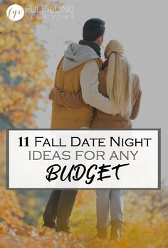 Come and check out these fun and exciting date night ideas for any budget! :: fulfillingyourvows.com