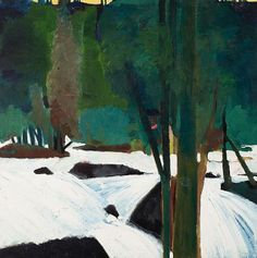The River - Elmer Nelson Bischoff (American, 1916–1991)