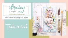 """#52   Spring card with """"Beauty in bloom"""" collection   Noura Pompilla Paper Manufacturers, Fb Page, Bloom, Crafty, Make It Yourself, Spring, Projects, Cards, Youtube"""