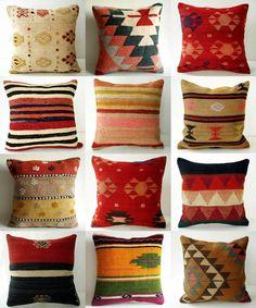 cozy cozy Cushion Cover Designs, Cushion Covers, Kilim Pillows, Decorative Throw Pillows, Living Room Decor, Bedroom Decor, Funky Home Decor, American Indian Art, Dream Home Design