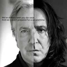 You'll always be remember. Always. I can't not crying if i see his photo, this is such a heartbreaker news. Rest In Peace Alan Rickman. #AlanRickman #HarryPotter #SeverusSnape #Snape