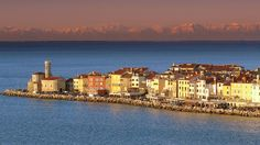 Blink, and you might miss this tiny point on Slovenia's coastline in the town of Piran.