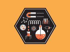 Dribbble - Science Equipment Icon by Brad Woodard