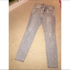 nwt high rise jeggings nwt aeo high rise jeggings size 10 in grey tumble American Eagle Outfitters Jeans Skinny