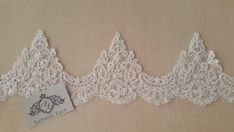 Ivory pearl beaded alencon Lace Trimming French style lace