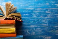 Open book, hardback books on wooden table. Back to school. Copy space for text Wallpaper Powerpoint, Powerpoint Background Templates, Background Powerpoint, Flower Background Wallpaper, Flower Backgrounds, Background Images, Wallpaper Backgrounds, Wallpapers, Back To School Party