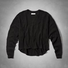 Womens Plush Cropped Sweater | Womens Sweaters | Abercrombie.com