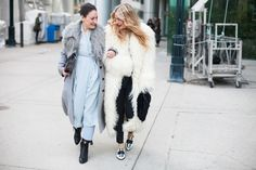 Loving this Toronto Street Style From #WMCFW - Flare #fur