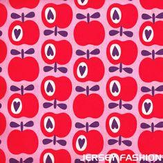 Hilco Hamburger Liebe - Simply Apples rosa rot