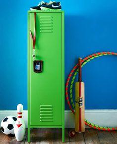 Lovely Kids Retro Bedroom Locker   Tall