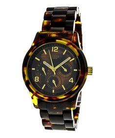 Brown Spectrum Watch