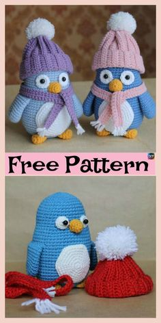 Crochet Baby Penguin Amigurumi – Free Pattern #giftidea #freecrochetpattern #penguin #toys