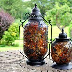 Adobe Marrakesh Large Ambar Garden Lantern
