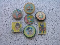 Soviet pin badges set - characters from russian cartoons with stereo effect - 7 pcs. USSR cartoon, CCCP by PinBadges on Etsy