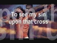 Lyrics on screen to the song Here I Am To Worship by Hillsong. 300,000 views! Keep them coming.