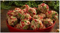 This season, deck the holiday table with this eye-catching Rice Krispies* showpiece. It& a quick and easy no-bake project that the kids can help with. Christmas Sweets, Christmas Cooking, Christmas Goodies, Holiday Ornaments, Christmas Holiday, Rice Krispies, Holiday Baking, Serving Platters, Holiday Recipes