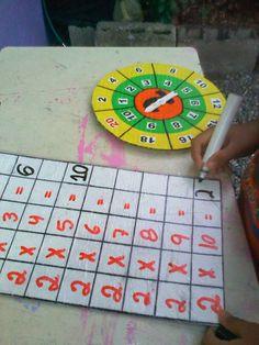 Mi Pequeño Mundo : Actividades para Trabajar la Multiplicacion