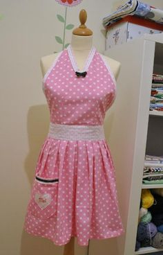 Retro Women's Apron