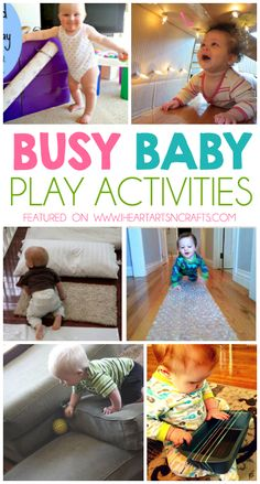 Creative Mommy and Me Baby Activities #sagtoswag
