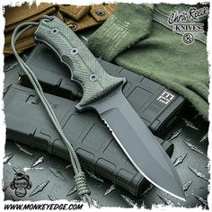 Chris Reeve Knives: Green Beret Knife - 5.5 Inch