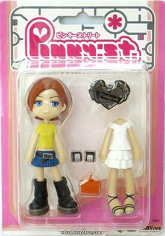 Pinky:st Street Series 9 PK027 Pop Vinyl Toy Figure Doll Cute Girl Anime Japan