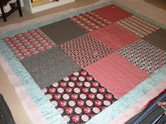Fat quarter quilt! - Maybe a cute childs blanket?