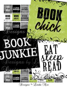 NEW BOOK Junkie 875 x 875 Inch Images Buy 2 by DesignsbyLindaNee, $3.95