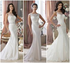 This Is Not An Illusion on itsabrideslife.com/Wedding Dresses with Sleeves/Sleeveless Wedding Dresses/Illusion Neckline Wedding Dresses