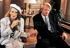 She-Devil (1989) Rosanne Barr plays a woman scorned when her accountant husband (Ed Begley Jr) is seduced by a trash fiction author (Meryl Streep). Based on a novel by less trashy fiction author Fay Weldon, who had scripted a BBC version three years earlier.