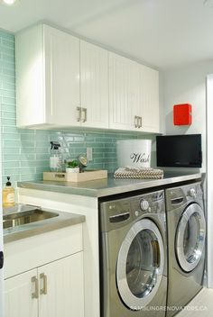 Rambling Renovators: After The Renovation: The Laundry Room