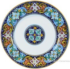 Deruta Italian Dinner Plate