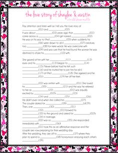 Mad-Libs Style Wedding Vows | Wedding vows, Weddings and Wedding