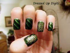 Celtic inspired nails