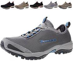 b22775766ce37 XIANG GUAN Mens Water Shoes Breathable Lightweight Beach River Walking Shoe  for Fishing Outdoor Review Water
