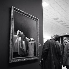 Vivian Maier, The Death of Marat,1962
