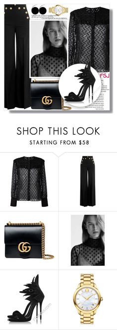"""""""FSJ"""" by jenny007-281 ❤ liked on Polyvore featuring Isabel Marant, RED Valentino, Gucci, Topshop, Movado and fsjshoes"""